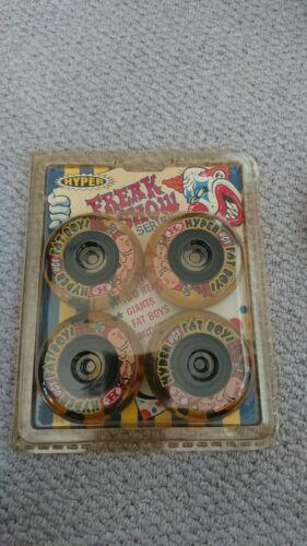 Original Brand New Hyper Fat Boy Wheels x4 72mm 82a Inline Skate rollerblade