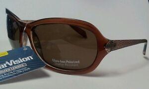 Brown-Style-Science-Polar-Vision-Woman-039-s-Glare-Free-Polarized-Sunglasses-100-UVA