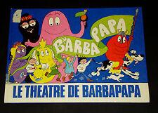 HTF - French Barbapapa - Le Theatre de Barbapapa- Tison & Taylor 1978 Hardcover