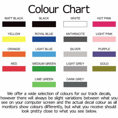 x2 Blyton Park Outer Circuit Race Track Outline Vinyl Decals Stickers Graphics