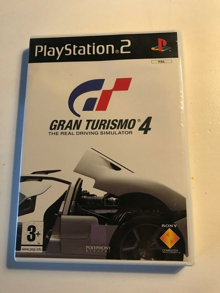 Gran turismo 4, PS2, simulation
