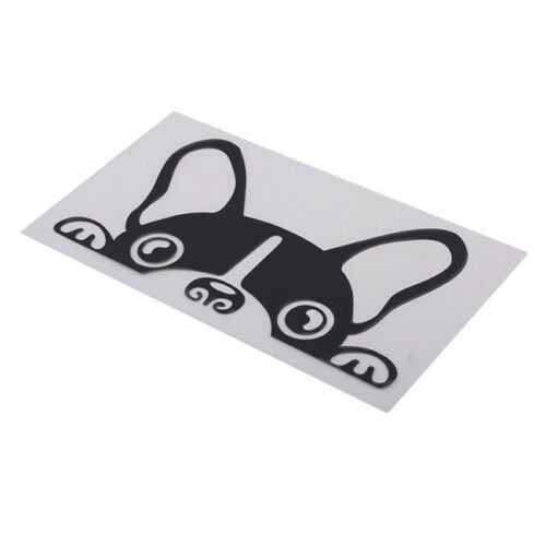 Pug Face Dog Printed Sticker Decal Car Truck Window Door Graphic SO