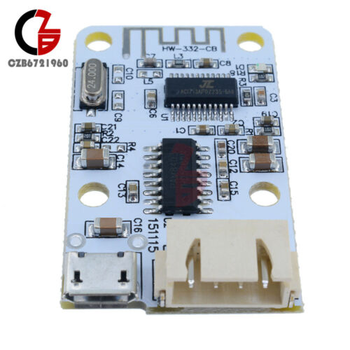 5V 3W+3W 2X3W Bluetooth Audio Receiver Digital Amplifier Board Module
