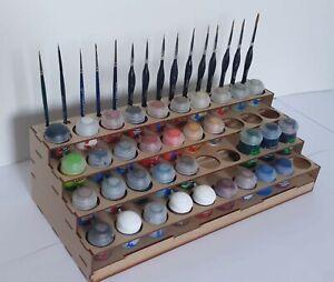 Rangement Peintures Citadel 40 pots Paint Stand Citadel Paint Rack Warhammer 40K
