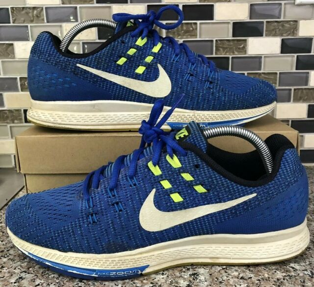 hot sale online 8f52e e551e Nike Air Zoom Structure 19 Size 9 Blue Green Mens Running Shoes 806580-401