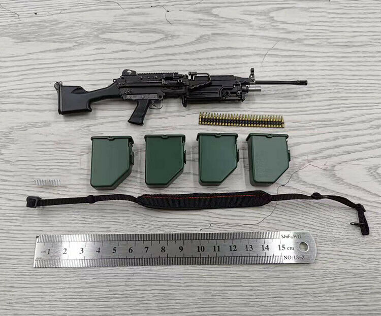 SoldierStory SS107 1 6 Iraq Special Operations Forces ISOF SAW GUNNER M249 Set