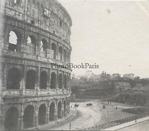 Roma-Italia-Foto-Bricolage-Vintage-Ca