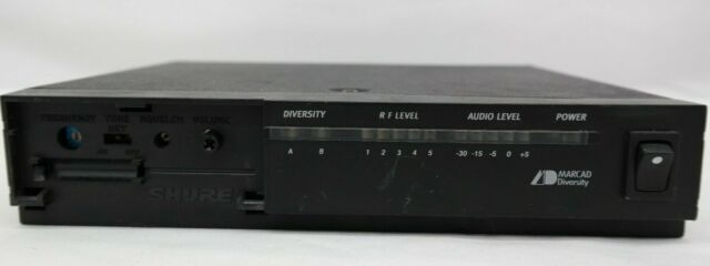 SHURE SC4-CH WIRELESS MICROPHONE RECEIVER W// Rack Ears MW