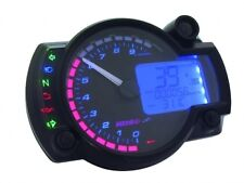 KOSO RX2N+ Digital Speedometer Speedo Dash Gauge RPM Temp 10K & speed sensor B