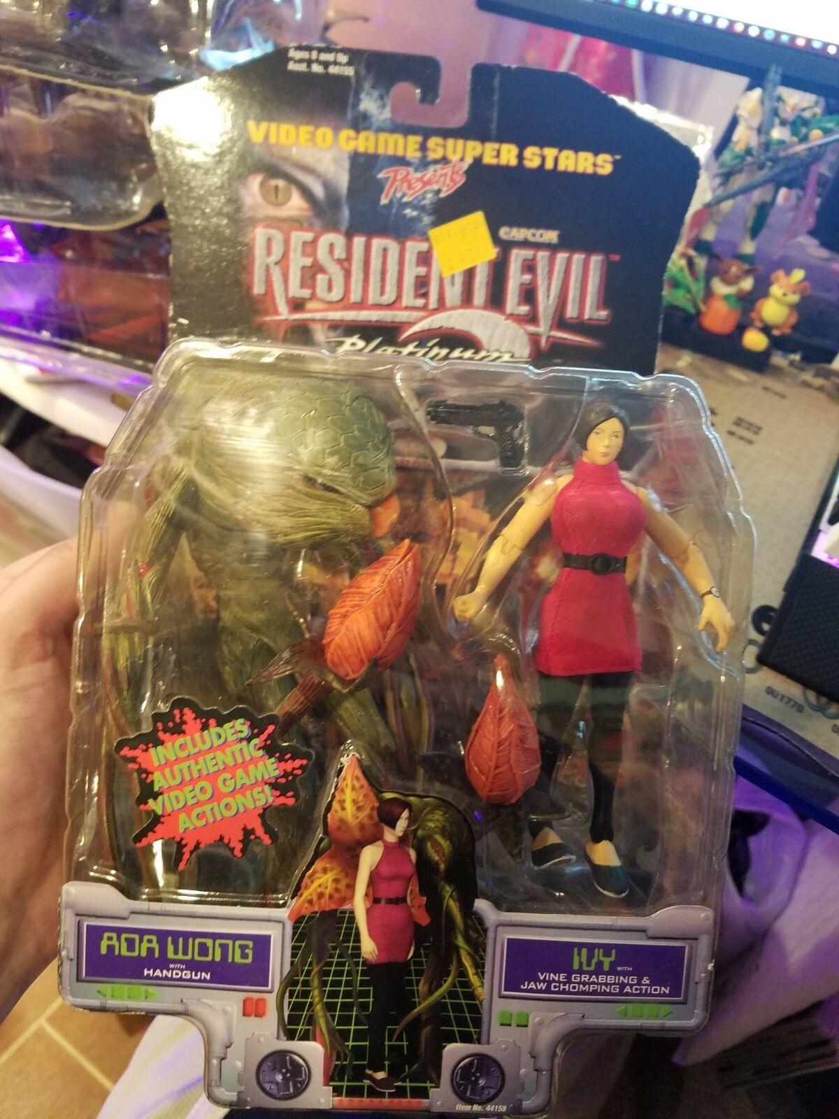 Resident evil 2 ada wong und ivy actionfigur versiegelt ungeöffnete capcom toybiz