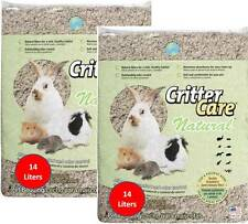 2 Critter Care Natural Soft Pet Animal Bedding Maximum Absorbency & Odor Control