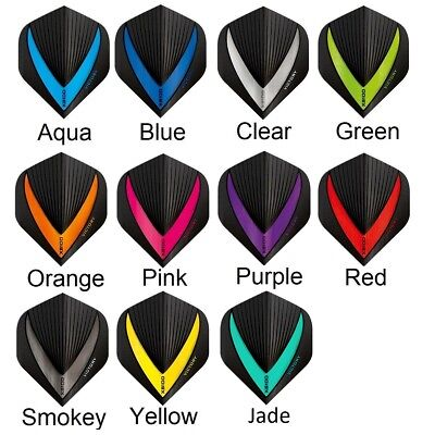Victory Curve Dart Flights 6 Colours Available XS100 Extra Strong