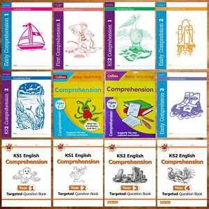 Ks1 Ks2 Comprehension Creative Writing Raisonnement Orthographe Collins Cgp Oxford Ae-afficher Le Titre D'origine Facile à Lubrifier