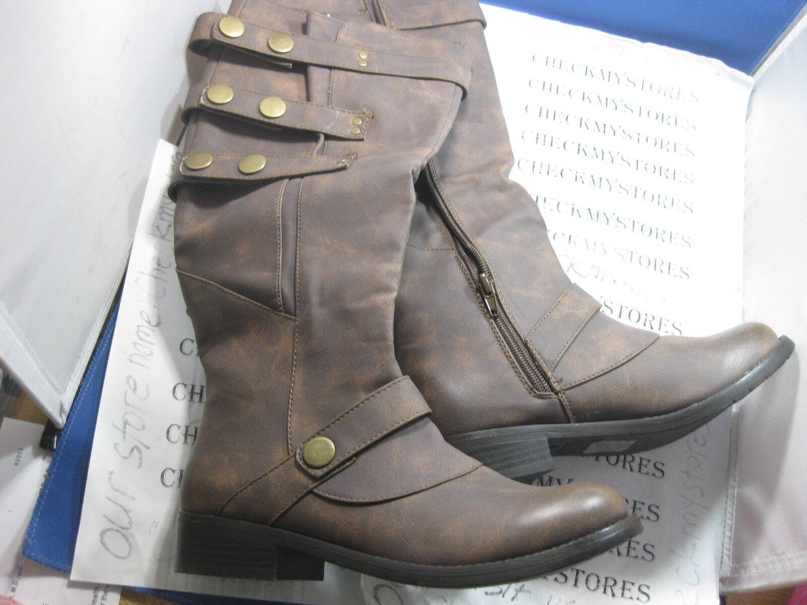 NIB Stylish 2 Lips Too ® Too Jumble premium fashion long boots CHOSE SIZE