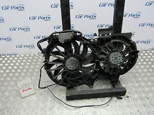 AUDI-A4-B6-Cabrio-Doble-Radiador-refrigeracion-ventiladores-8E0121205N-5-meses-de-garantia