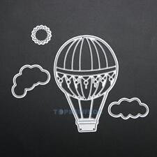 Heißluft Ballon Stanzschablone Prägeschablone Scrapbooking Papier Karten DIY