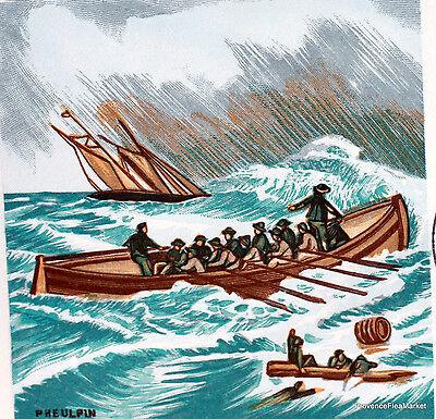 Yt 1791 Eine Rettung In Meer Frankreich Fdc Umschlag Premier Tag Ein Kunststoffkoffer Ist FüR Die Sichere Lagerung Kompartimentiert Frankreich & Kolonien Briefmarken