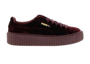new product 80525 d7b52 Details about Puma Creeper Velvet Rihanna Fenty Purple lebron db bin  supreme yeezy offwhite