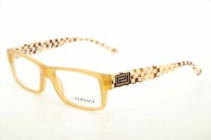 087ab71086e7 Image is loading New-Authentic-Versace-Mod-3141-902-Yellow-White-