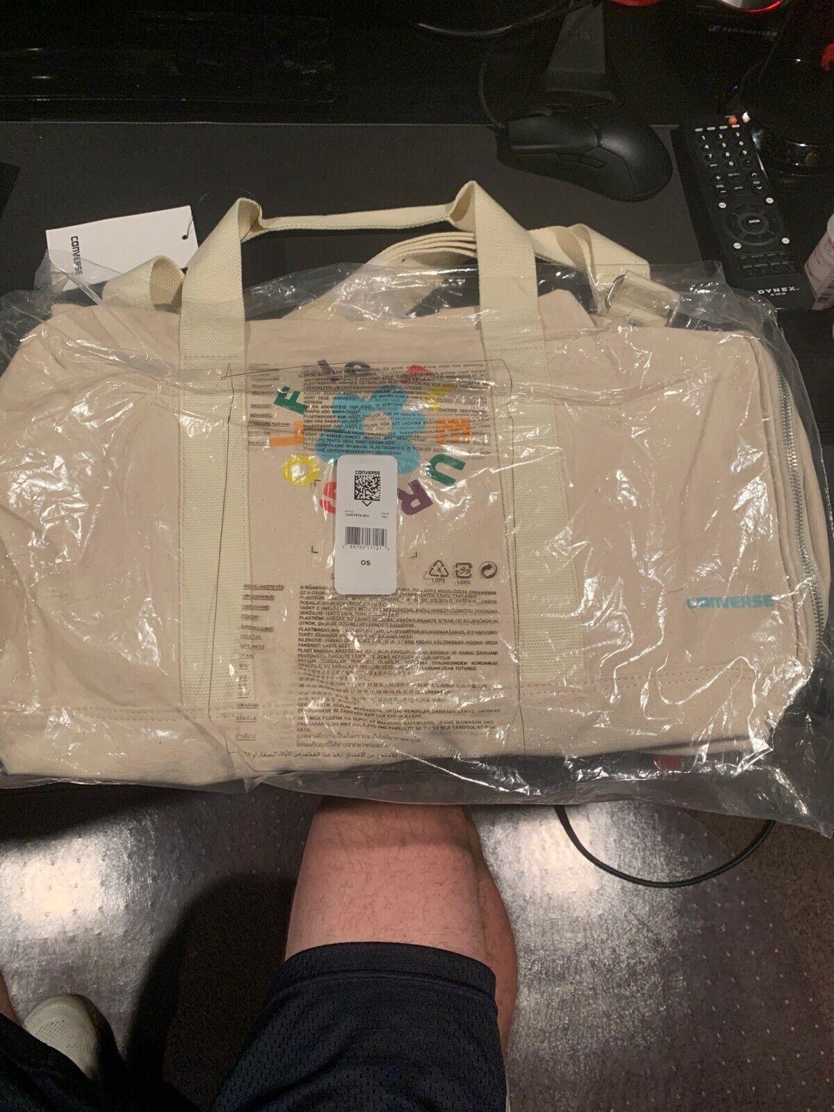 Cfg Golf Le Fleur X Converse Baby Blue Shoulder Bag Satchel For Sale Online Ebay