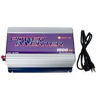 Lcd Display 1000w Solar Grid Tie Inverter Dc 45v-90v To Ac 110v 92% Efficiency