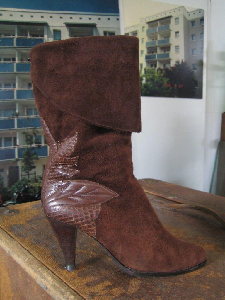 Bottes Femmes Gian paolo mattiozzi slouch true vintage Bottes Femmes Marron marron