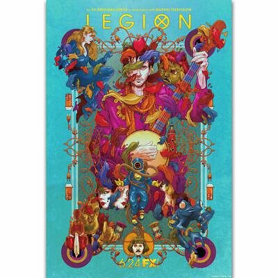 Legion Poster 2019 TV Show Art Silk Canvas Poster Print 24x36 inch Home Decor