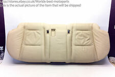 BMW E65 E66 730d FL (2) 7 SERIES REAR SEAT LEATHER BEIGE BOTTOM PART ONLY