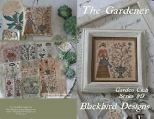 The Gardener - Garden Club Series #9 - Blackbird Designs New Chart
