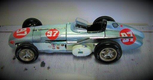 T Ford 1 un gran premio F 1 Indy enano carrera construido coche modelo Vintage 24 1958 12 GT 25 F 40