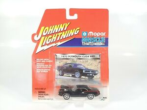 JOHNNY-LIGHTNING-MOPAR-MUSCLE-1970-PLYMOUTH-039-CUDA-440-1-64-DIECAST-NEW-NOC