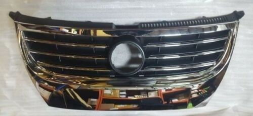 VW Touran 2007-2010 Front Main Grille Chrome And Black Without Badge 1T0853651AG