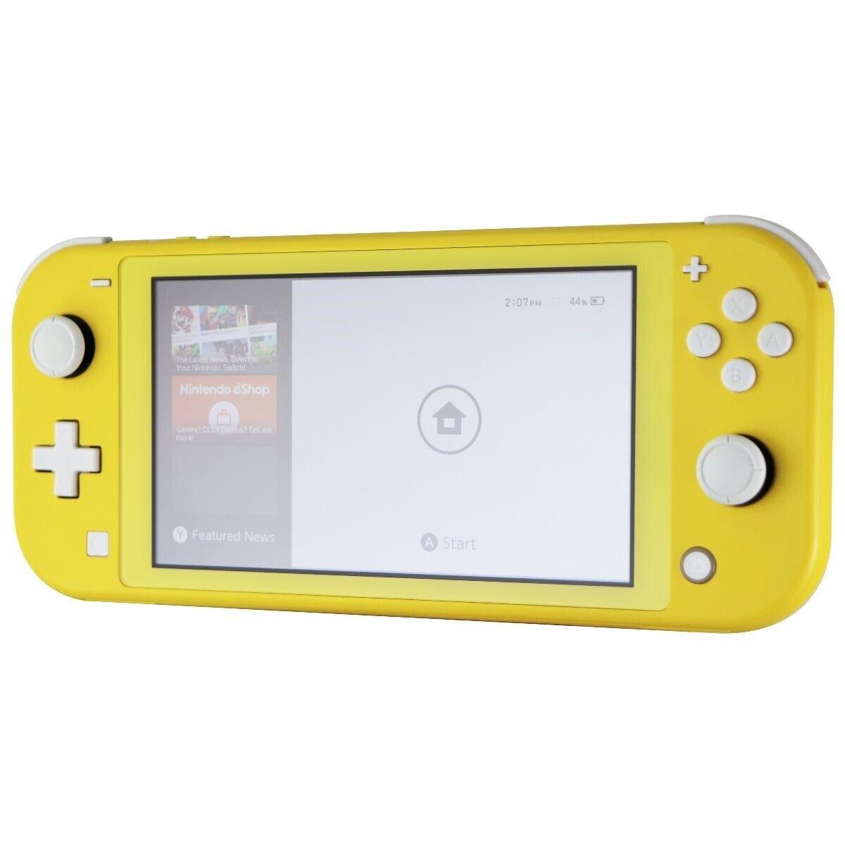 Nintendo Switch Lite Handheld Gaming Console - Yellow (HDH-001)