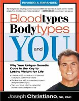 Blood Types, Body Types And You (revised And Expanded) By Joseph Christiano, (pa on sale