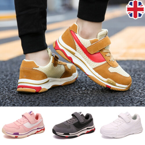 Children Mesh Sneakers Lace up Kids Boys Running Shoes Sports Athletics Outdoors