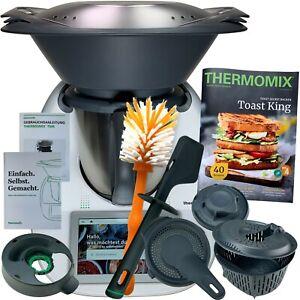 Vorwerk Thermomix TM6 *HERBST* Kochbuch COOKIDOO® Bürste NEU WLAN TM 6 TOP