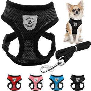 Breathable-Pet-Dog-Harness-and-Leash-for-Chihuahua-Yorkie-Shih-Tzu-Poodle