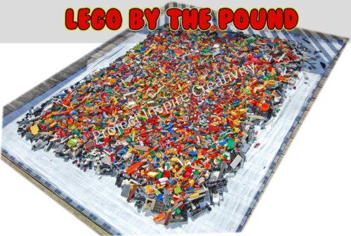 1000 Piece 2lbs Best Price Value Sales Lego Bulk Lot Chima//Ninjago//Starwars