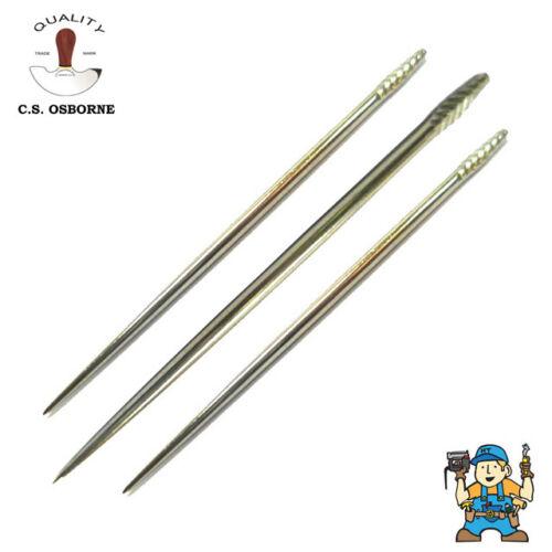 "Singles Osborne No.32 Stabbing Awl Blades 2.5-3/""  Leather Work C.S"