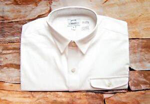 NEXT MEN'S WHITE LONG SLEEVE COTTON SHIRT Regular Fit Sizes S,M,L,XL,XXL,3XL