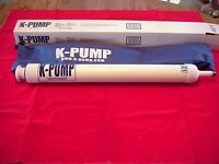 K-pump K-200 Float Tube Pontoon Boat Pump Great