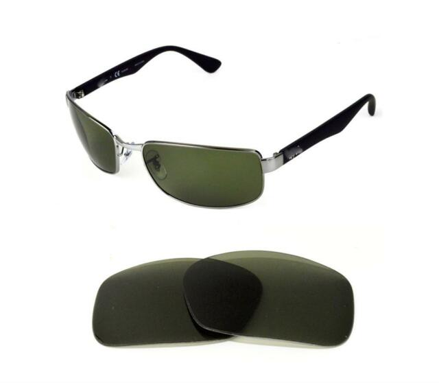 9b4d0874f2 NEW POLARIZED REPLACEMENT G15 LENS FIT RAY BAN RB3478 60mm SUNGLASSES
