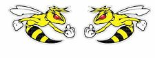 2x Bee angry Sticker Printed Car Truck 2nd Amendment  Tuning