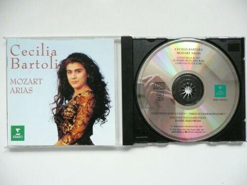 1 of 1 - Cecilia Bartoli sings Mozart Arias Erato 0630 14074 CD