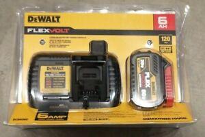 DEWALT DCB606C 20V 60V 6.0Ah Lithium-ion Battery Pack W/ 6amp Fast Charger NEW!