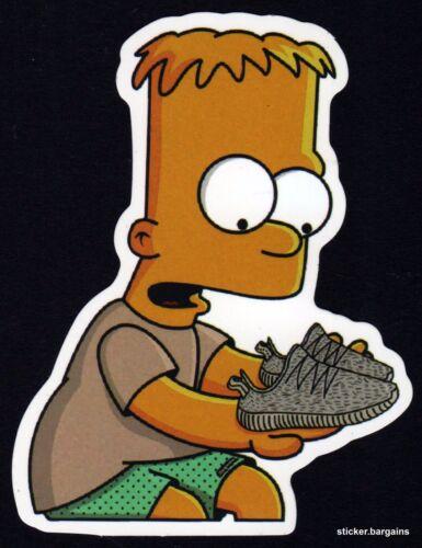 Cool Designs Laptop Car Skateboard Motorcycle Vinyl The Simpsons Stickers 50
