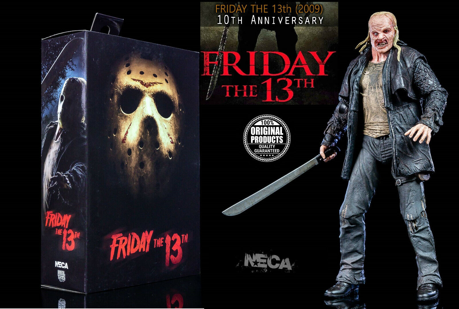 NECA-Friday the 13th - 2009-Ultimate Jason Voorhees - 10th Anniversary -
