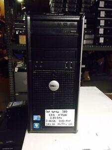 DELL Optiplex 380 Core 2 Duo E7500 2 93Ghz 2GB 320GB DVD-RW