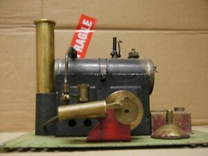 vintage large Bowman live steam stationary engine c1900's working condition