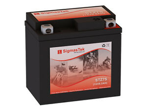 STZ7S - Replaces YTZ7S  Motorcycle Battery By SigmasTek